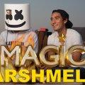 Marshmello Shares his Creative Process | Magic with Celebrities видео