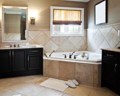 Как посчитать количество плитки для пола и стен в ванной комнате?