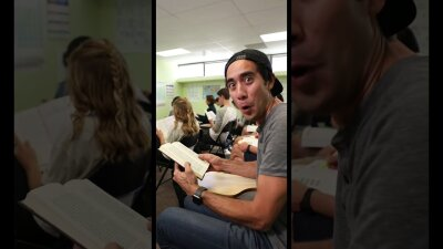 Why you should never play video games in class #shorts видео