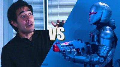 Zach King vs Evil Robots - (Rescue Mission Short Film) видео