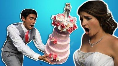 Beware of the BRIDEZILLA! - Magic at Weddings w/ Zach King видео