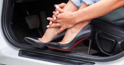 Обувь для вождения автомобиля