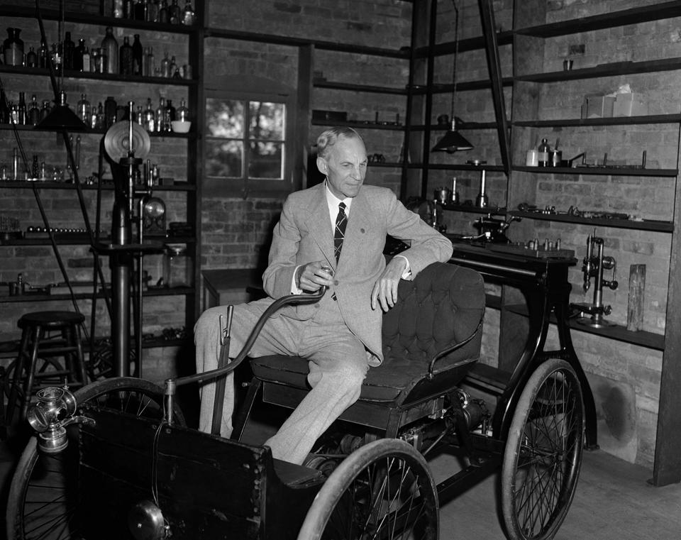 'henry ford and the motor car The ford soybean car of 1941 was so named because its body panels were said to be constructed from a soy-based plastic created in ford's soybean laboratory at.