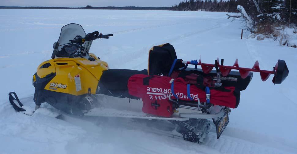 Снегоход для рыбалки какой выбрать